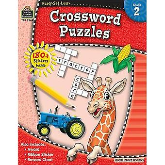 Ready-Set-Learn - Crossword Puzzles by Teacher Created Resources - 978