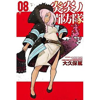 Fire Force 8 by Atsushi Ohkubo - 9781632365477 Book