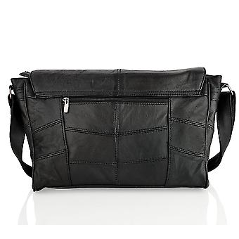 Skinn landskap messenger bag 15,0