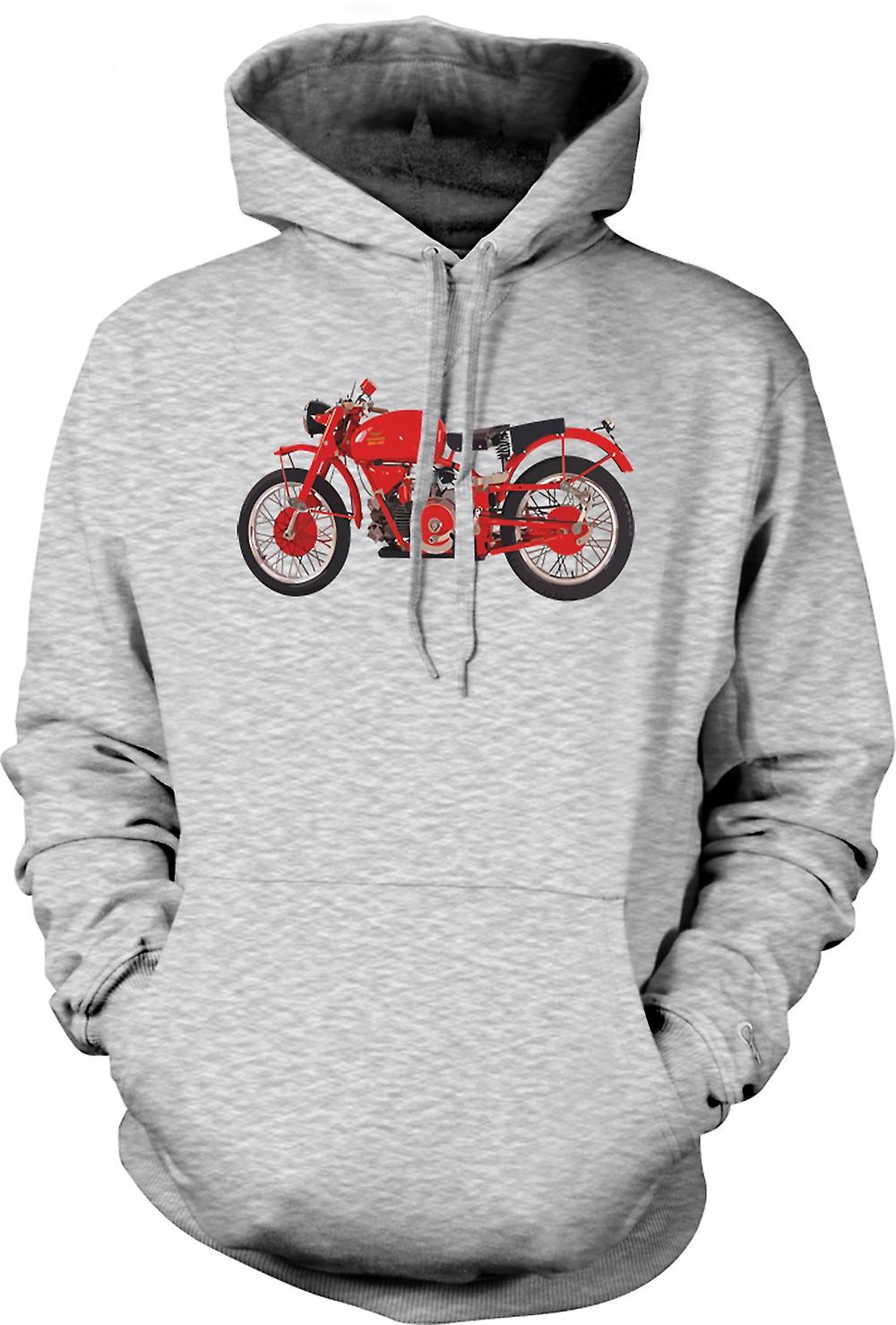 Mens Hoodie - Moto Guzzi Taranto 56 Col - Bike