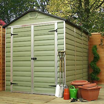Mercia 4x6ft Polycarbonate Plastic Shed