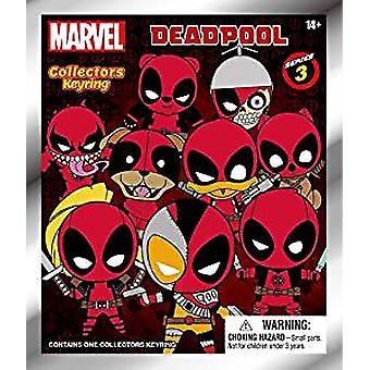 Portachiavi - 3D PVC Foam Collectible - Marvel - Deadpool - Serie 3 Nuovo 68595