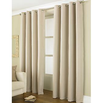 Country Club Thermal Blackout Eyelet Curtains 46