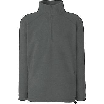 Fruit Of The Loom - Half-Zip Mens Fleece Jacket