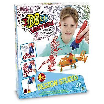 Giochi Preziosi Ido Vertical- 3D 3D Design Studio 4 Pens
