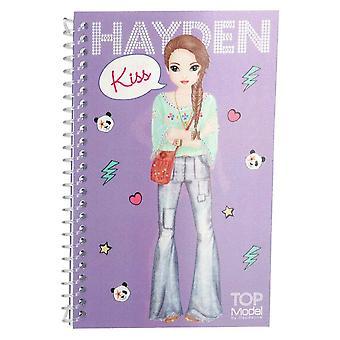 Cuaderno Top Model Dress Me Up Pocket