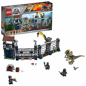 LEGO, Jurassic World - Dilophosaurus stationsattack