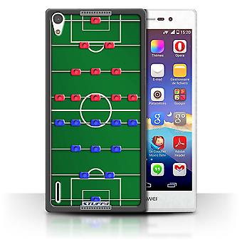 STUFF4 Case/Cover for Huawei Ascend P7 LTE/Table Football/Foosball/Games