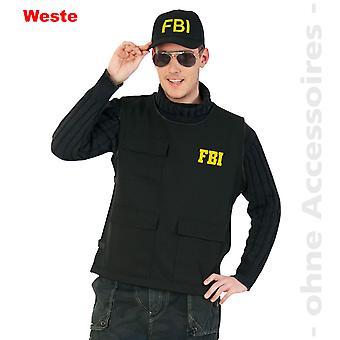 FBI vest costume men's police Sonderkomando mens costume
