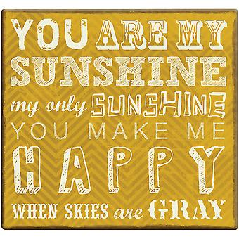 You Are My Sunshine Post Bound Scrapbook 12