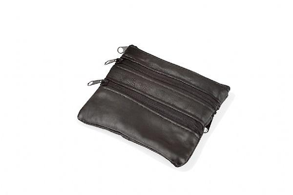Woodland Leather Zip Coin Purse