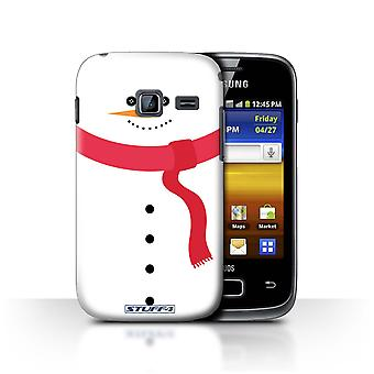 STUFF4 Case/Cover for Samsung Galaxy Y Duos/S6102/Snowman/Christmas Character
