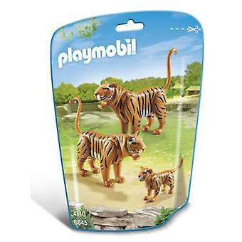 Playmobil 6645 2 Tiger Mit Baby