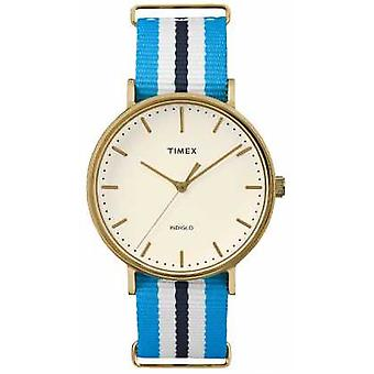 Timex Unisex Weekender Fairfax Blue White Strap TW2P91000 Watch