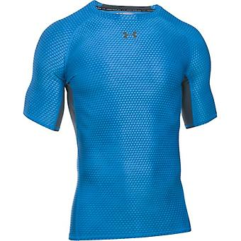UA Armour Printed SS Compression Top