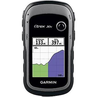 Outdoor GPS Geocaching, Cycling Garmin eTrex 30x Western Europe GPS, GLONASS, sprayproof
