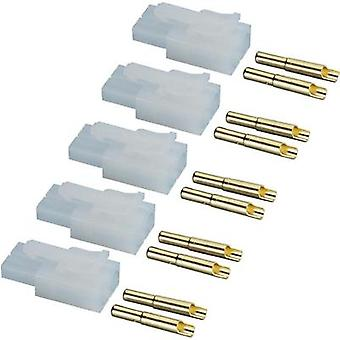 Battery receptacle Tamiya Gold-plated 1 Set Modelcraft 209241
