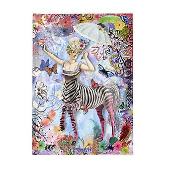 Zebra Girl by Christian Lacroix
