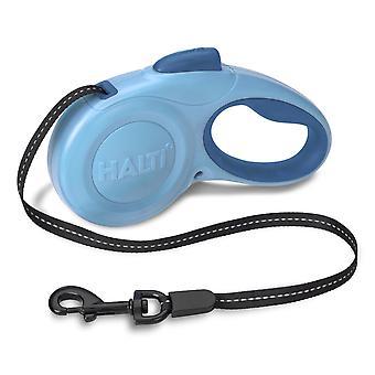Halti Retractable Tape Lead Blue Large 49kg - 5m