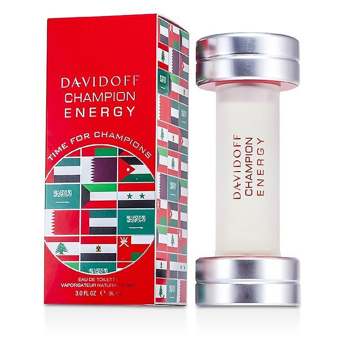 Davidoff Champion Energy Eau De Toilette Spray 90ml / 3oz (édition du Moyen Orient)