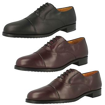 Mens Grenson Lace Up Oxford Style Shoes 'Hurst'