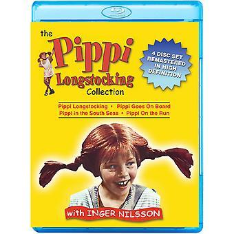 Pippi Langstrømpe samling [Blu-ray] USA importerer