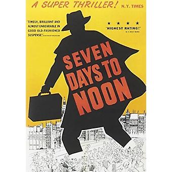 Seven Days to Noon [DVD] USA import