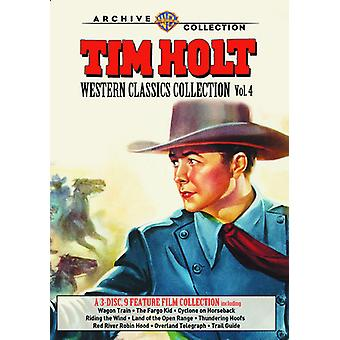 Tim Holt vestlige Classics Collection: Vol 4 [DVD] USA import