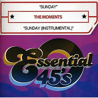 Moments - Sunday/Sunday (Instrumental) [CD] USA import