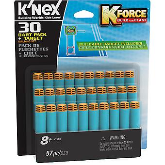 K'NEX K Force 30 Dart Pack and Target