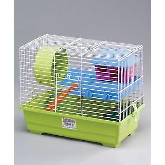 Mgz Alamber Hamster Cage Flat (Small animals , Hamsters , Cages and Parks)