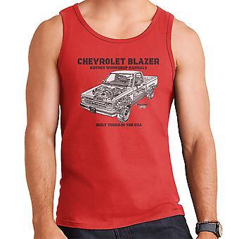 Haynes Besitzer Werkstatt manuell Chevrolet Blazer schwarz Herren Weste