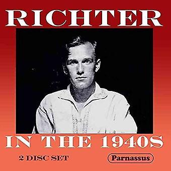 Sviatoslav Richter - Richter i 1940s [CD] USA importen