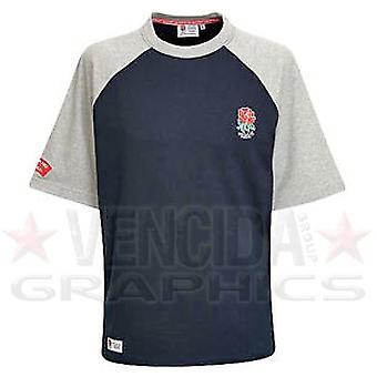 RFU England Rugby Small Logo Raglan Tee junior