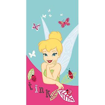 Disney Fairies Tinker Bell håndklæde og bad Caleffi