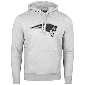 New era Fleece Hoody - NFL New England Patriots grey