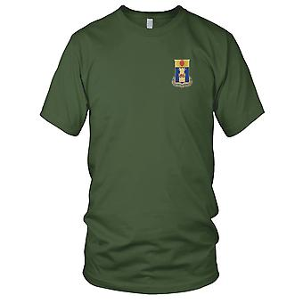 US Army - 186th Infantry Regiment Embroidered Patch - Kids T Shirt