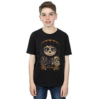 Disney ragazzi Coco Miguel Face Poster t-shirt