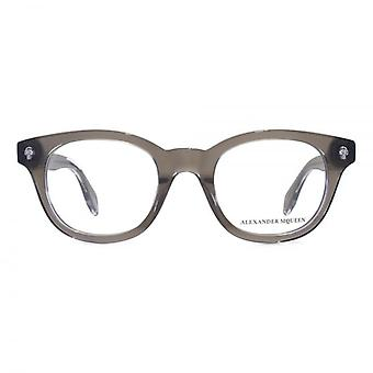 Alexander McQueen Ghost Skull AM0027 Glasses In Grey
