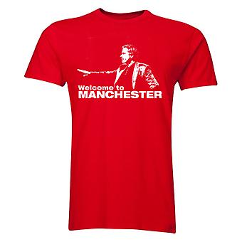 Jose Mourinho Welcome To Manchester T-Shirt (Red)