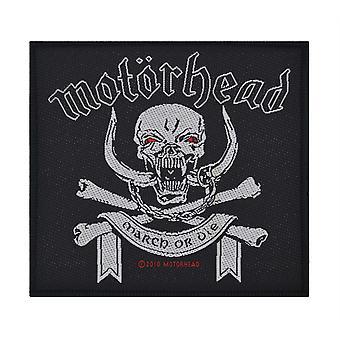 Motorhead marzo o Die tessuto Patch