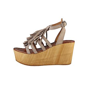 Ana Lublin Wedges Brown