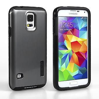 Incipio Dualpro Shine For Samsung Galaxy S5 - Silver-Black