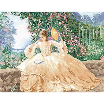 Ringlets & Roses Counted Cross Stitch Kit-16