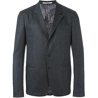 Kenzo men's F665VE4431RF grey wool Blazer