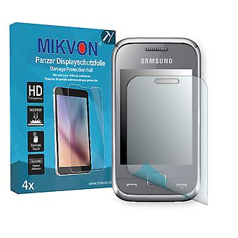 Samsung C3310R Rex 60 Screen Protector - Mikvon Armor Screen Protector (Retail Package with accessories)