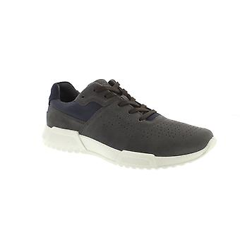Ecco 531374 Luca - 50889 Magnet/Marine Bukhara/Suede (Navy) Mens Trainers
