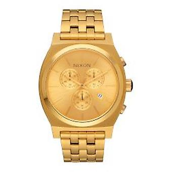 Nixon Time Teller Chrono tout or H (A972502)