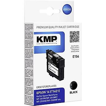 KMP Ink replaced Epson T1621 (16) Compatible Blac