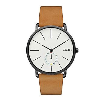 Skagen Skw6210 Hagen Black & Brown Leather Men's Watch